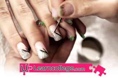 ULearn College - Half Day Nail Art Course - Save 60%