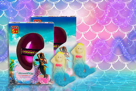 Cheeky Box - Two hatching mermaid eggs - Save 62%