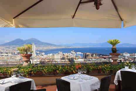 Hotel San Francesco Al Monte - Four Star 16th Century Nostalgia and Majestic Gulf Views For Two - Save 66%