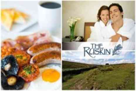 The Ruskin Hotel - One Night Midweek Break for two - Save 44%