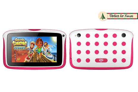 Infinity - 7 Inch kids tablet choose from four colours - Save 76%