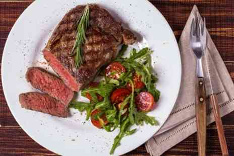 Bueno Eatery - Three Course Steak Meal with a Glass of Wine or Beer for Up to Six - Save 40%