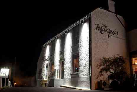 The Marquis at Alkham - Five star One or Two Nights for Two with Breakfast, Four Course Taster Menu and Prosecco  - Save 48%