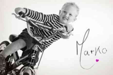 Studio Marko - Childrens Photo Shoot Plus Mounted Print - Save 92%