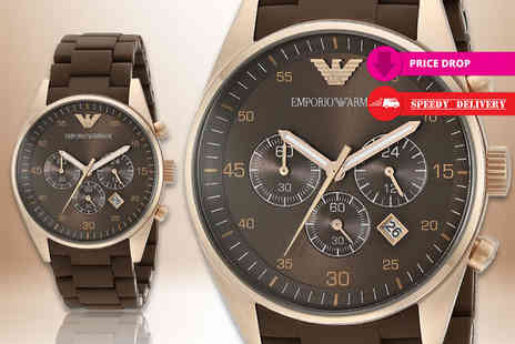 D2time - Emporio Armani AR5890 silicone watch - Save 66%