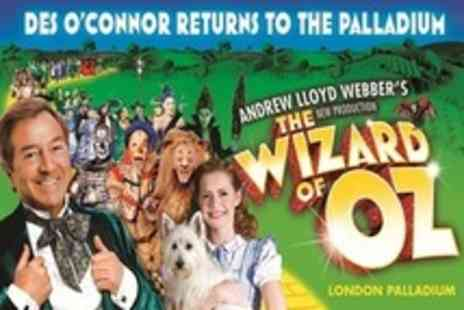 The Wizard of Oz - Upper Circle or Top Price Ticket - Save 50%