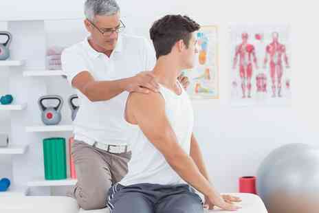 Shield Clinic - Back Pain Analysis with Scans and Two Treatments - Save 83%