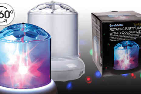 Direct 2 public - Rotating Led Party Lamp - Save 75%