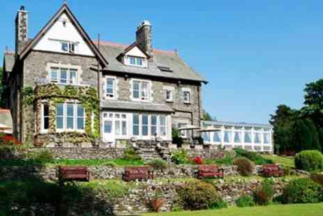 Sawrey House Hotel - Afternoon tea for Two with Esthwaite views - Save 42%
