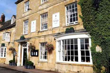 The Kings Hotel - Cotswolds stay With Two AA Rosette dinner - Save 0%