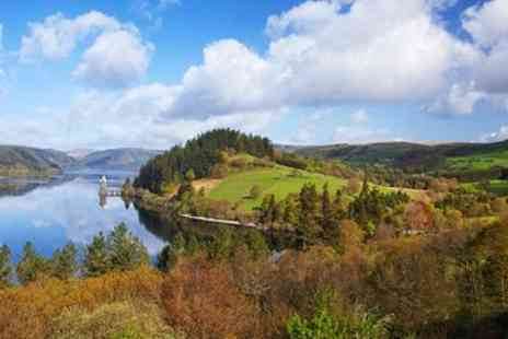 Lake Vyrnwy Hotel - Gourmet lakeside getaway With bubbly - Save 0%