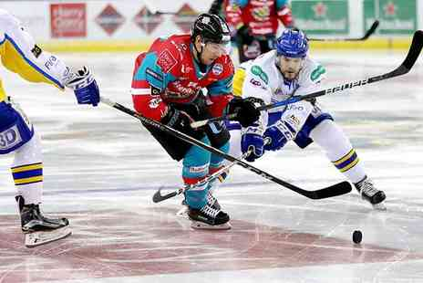 Belfast Giants - Two tickets to the Belfast Giants vs Fife Flyers ice hockey game - Save 53%
