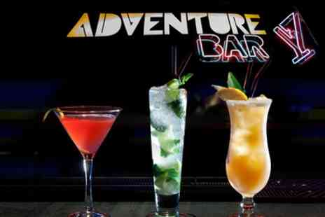 Adventure Bar - Three or Six Cocktails - Save 60%