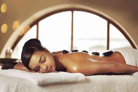 Atlantis Beauty Salon - 45 Minute Hot Stone Massage or 75 Minute Full-Body Hot Stone Massage - Save 47%
