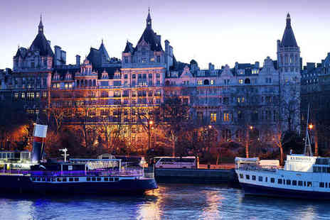 The Royal Horseguards - Five Star Stunning Hotel Overlooking Thames for two - Save 70%