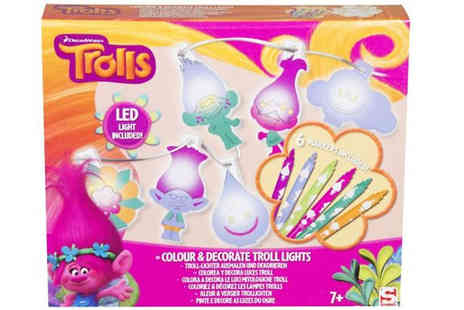 Direct 2 public - Trolls Themed Colour In Led Fairy Lights - Save 83%
