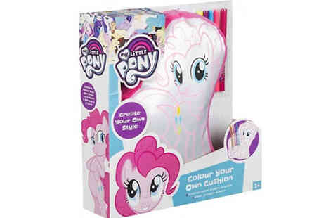 Direct 2 public - My Little Pony Colour Your Own Cushion - Save 85%