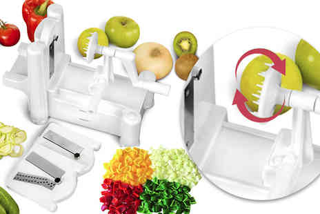 Direct 2 public - Vegetable Slicer And Spiraliser - Save 80%
