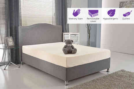 My Mattress Online - Small single, small double or double or king size memory foam mattress - Save 88%