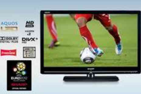 Sharp Direct - Sharp 32 LED HD ready TV with built in Freeview - Save 0%