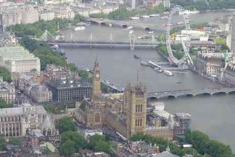 Heli Adventures - 30 minute Helicopter Tour over Central London - Save 10%