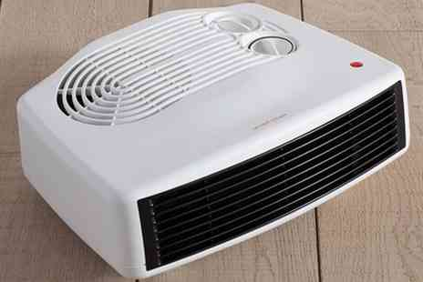 Groupon Goods Global GmbH - Daewoo Upright, Flat or Upright or Flat Fan Heater - Save 56%