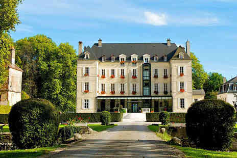Chateau de Saulon - Spa and Epicurian Delights in Burgundy For Two - Save 59%