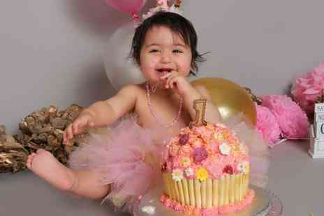 Wild Ginger Photography - Cake smash photoshoot - Save 95%