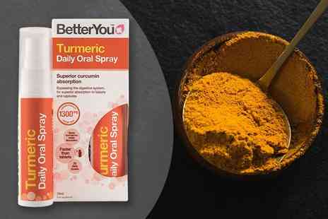 Pharmacy First - 25ml bottle of turmeric oral spray - Save 63%