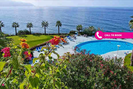 Super Escapes Travel - Seven night 4 Star all inclusive Madeira break with flights - Save 32%