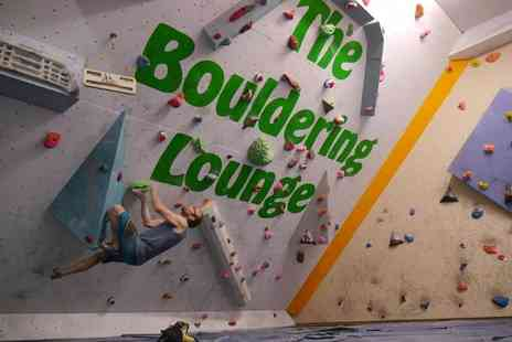 Rope Race Climbing Centre - One hour indoor rock climbing taster session for one or two - Save 50%