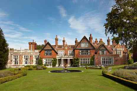 Macdonald Hotels - Four Star overnight New Forest stay for two with breakfast, leisure access and 20% off spa treatments - Save 53%
