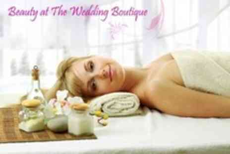 The Wedding Boutique - Beauty Therapies TwoTreatments Such as Swedish Massage or Facial - Save 79%