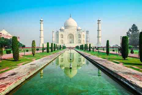 Weekender Breaks - Six night guided tour of India with hotel transfers and flights - Save 26%