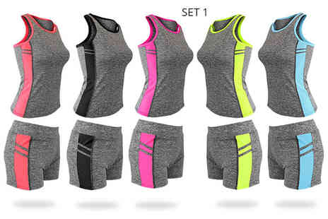 Want Clothing - Top and shorts active wear set - Save 20%