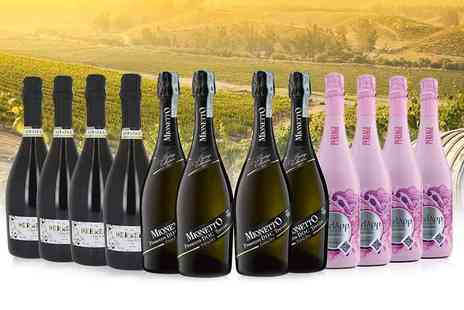 San Jamon - 12 bottles of award winning Prosecco and rose - Save 47%