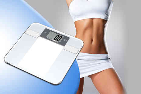 Direct 2 Publik - 6 in 1 digital body fat monitoring & weighing scales - Save 70%