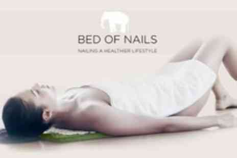 Bed of Nails - Acupressure Pillow or Mat Both - Save 62%