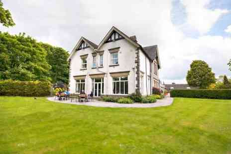 Newton House Hotel - One or two night Peak District break for two including breakfast and dinner with a bottle of wine - Save 54%