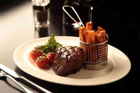 Bo Vine Meats & Wines - Chateaubriand for two with triple cooked chips and a glass of Prosecco each - Save 51%