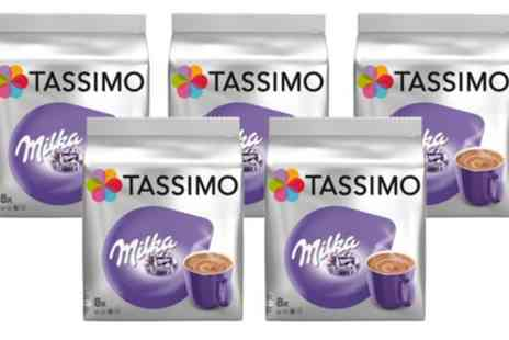 Groupon Goods Global GmbH - 40 Servings of Tassimo Milka Hot Chocolate - Save 12%
