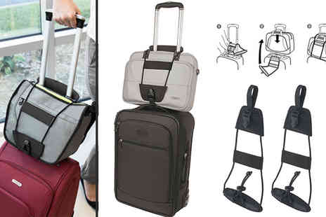 Gagala - Two Pack Luggage Bungee - Save 65%