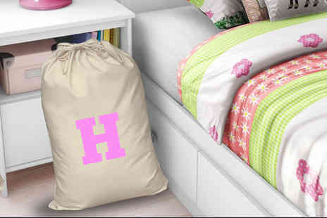 Treats on Trend - Large personalised laundry sack - Save 68%