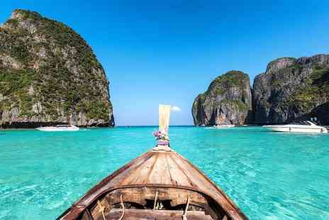 Great Pacific Travels - Ten night Thailand break to Phuket, Krabi and Phi Phi Island, including daily breakfast, return flights and ferry transfers - Save 31%