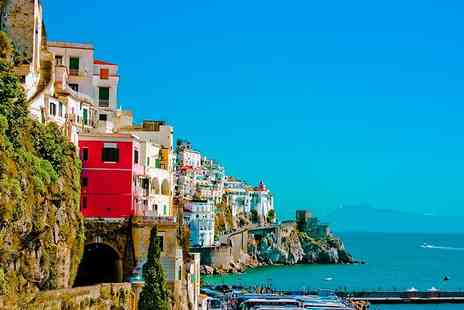 Bargain Late Holidays - Three night all inclusive 4 Star Calabria, Italy break with welcome drink and flights - Save 55%