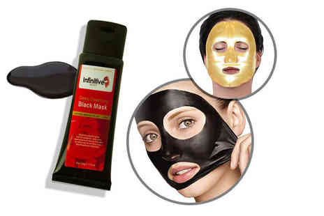Forever Cosmetics - Peel off blackhead mask and five collagen masks - Save 93%