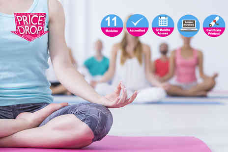 KEW training academy - Accredited professional yoga teacher diploma - Save 94%