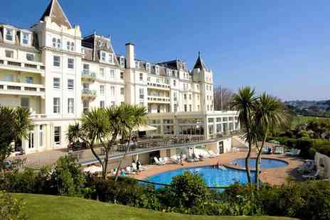 The Grand Hotel - Luxury Stay for Two with Breakfast, AA Rosette Dinner and Leisure Access - Save 30%