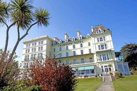 The Falmouth Hotel - Luxury Stay for Two with Breakfast, AA Rosette Dinner and Leisure Access - Save 36%