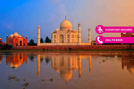 iFly Holidays - Eight night tour of Indias Golden Triangle, including Taj Mahal visit, with 4 star and 5 star accommodation throughout - Save 25%